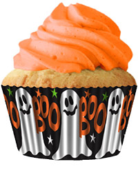 cupcake paper wrappers 9131 Boo