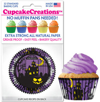 cupcake paper wrappers 8838 Haunted House