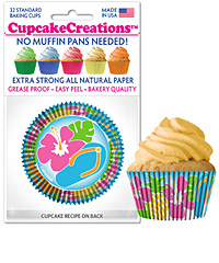 cupcake paper wrappers 8895 luau