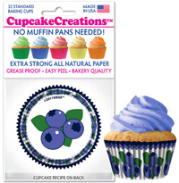 cupcake liners 8977 Harvest Blueberry