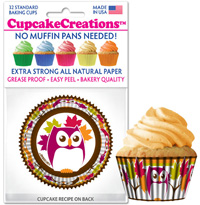 cupcake papers 8986 Owls
