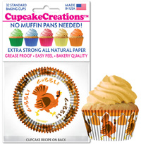 cupcake papers 8988 Gobble Gobble