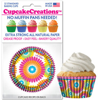 cupcake papers 9043 Color Burst