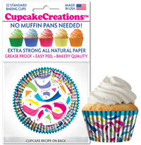 cupcake colored 9047 Confetti
