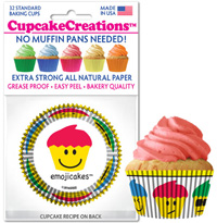 cupcake paper wrappers 9090 Emojicakes