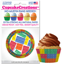 cupcake paper wrappers 9091 Building Blocks