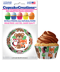 cupcake paper wrappers 9171 Woody Friends