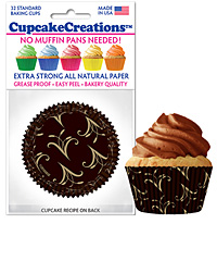 cupcake paper wrappers 9174 Simply Elegant
