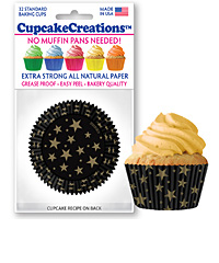 cupcake paper wrappers 9178 Stars