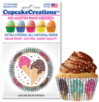cupcake paper wrappers Ice Cream baking cups