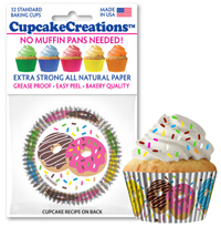 cupcake paper wrappers Donuts baking cups