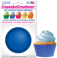 cupcake baking cups 8861 Blue